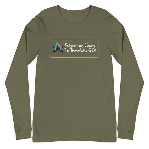 Camping Out Unisex Long Sleeve Tee