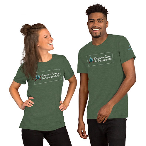 Camping Out Unisex T-shirt