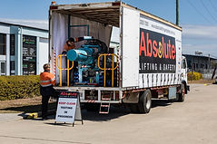 Mobile Test Bed Truck
