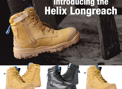 New Helix Longreach Safety Boot