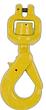 Swivel Self Locking Hook, Clevis Type, C