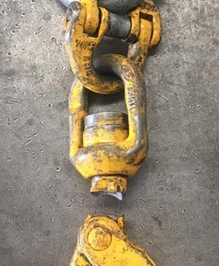 Swivel Hooks & Steel Not Indestructible