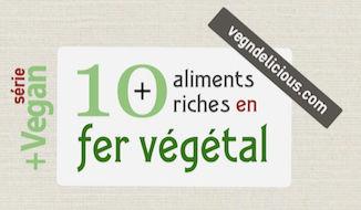 Veg 39 n 39 delicious vegan 101 - Aliments les plus riches en fer ...