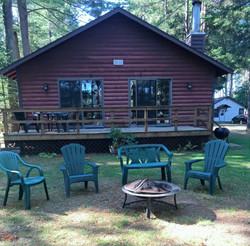 Cabin 2 is a 3 bedroom 2 full bath