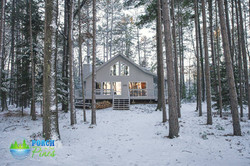 Porch in the Pines - Winter