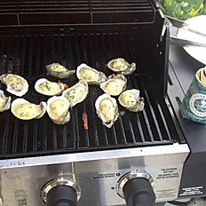 Tyler's Char-Grilled Oysters