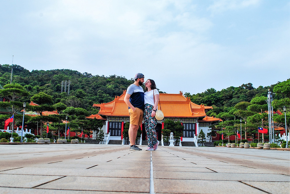 Visite a Taipei du National Martyrs' Shrine