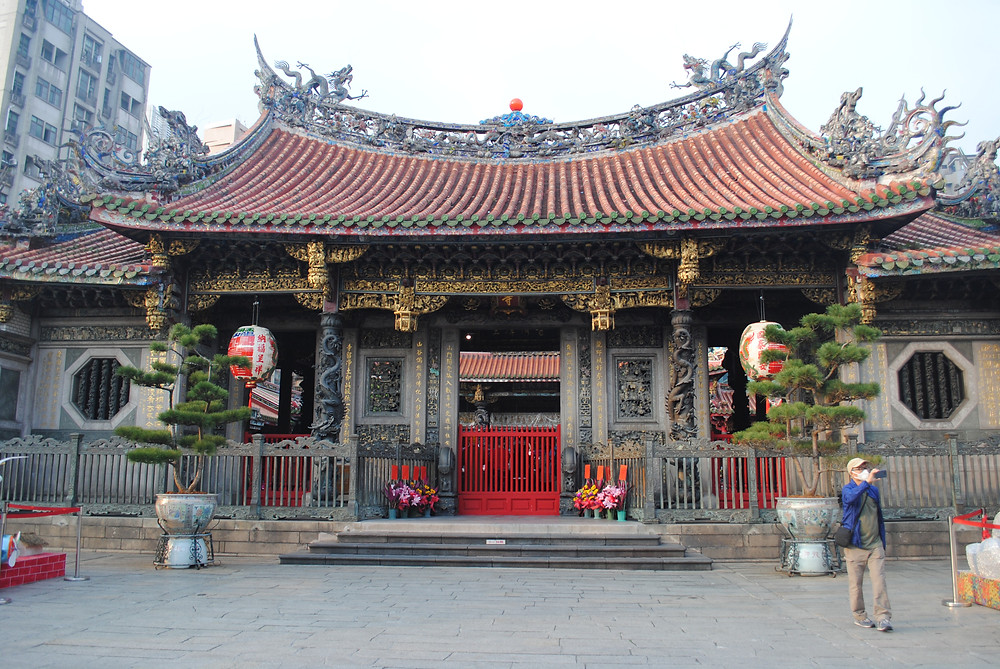 Visiter a Taipei, le Longshan Temple