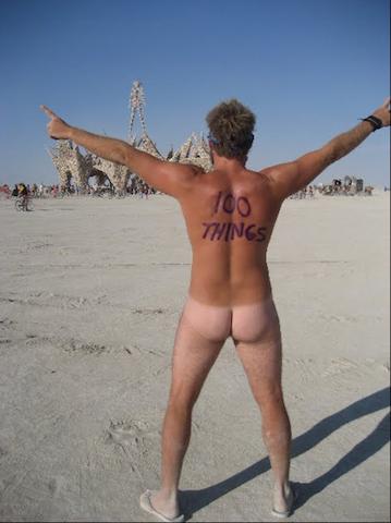 #14 - Attend Burning Man Festival