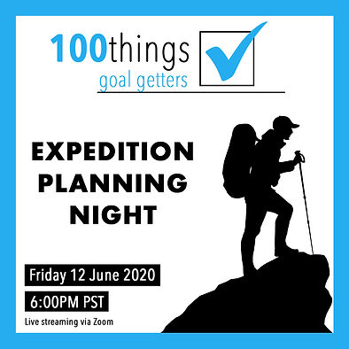 Goal Getters #2_Expedition Planning Nigh