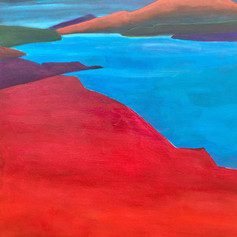 Red and blue Loch