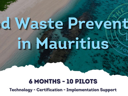 Food Waste Prevention in Mauritius – Destination Project