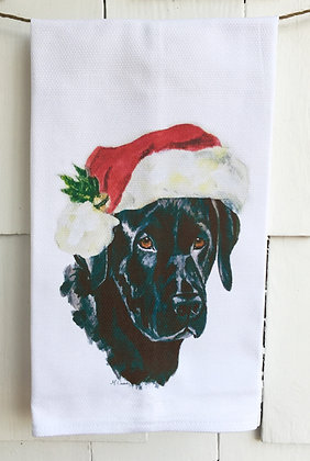 Holiday Babe #30835 Cotton Huck Kitchen Towel