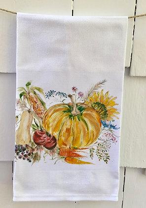 Farmer's Field -Cotton Huck KitchenTowel