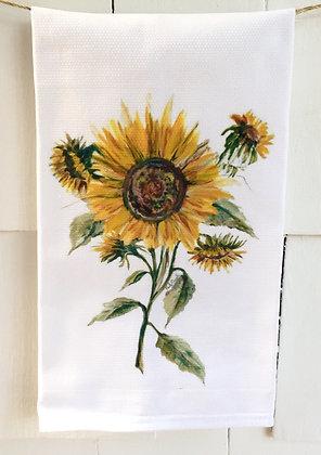 Sunflowers #5001  KitchenTowel
