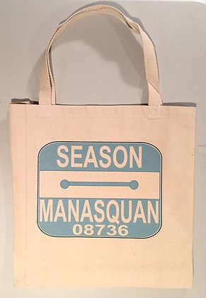 Beach Badge Tote Bags -Size Large
