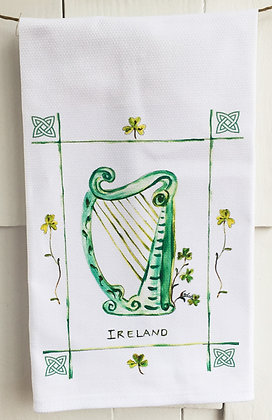 Ireland 2086 Cotton Huck Kitchen Towel