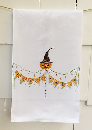 #8060 Trick or Treat -Kitchen Towel