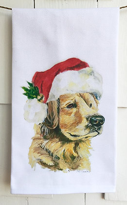 Holiday Golden #50155 -Cotton Huck Kitchen Towel