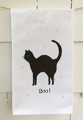 #2043 Boo! -Kitchen Towel