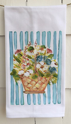May Day #60091 -Cotton Huck KitchenTowel