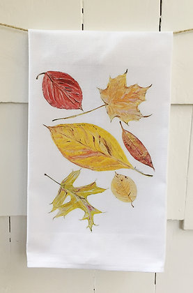 #5093 Falling Leaves -Kitchen Towel