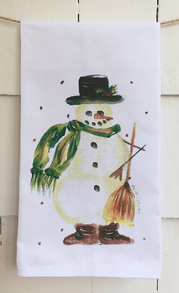 #60332 Frosty - Cotton Huck Kitchen Towel