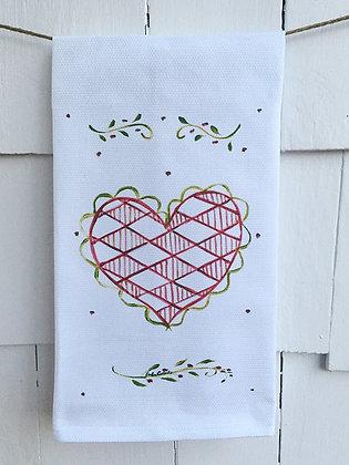 Sweetheart -2008 Cotton Huck KitchenTowel