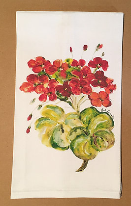 #9048 Geranium -Kitchen Towel