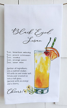 Black Eyed Susan Recipe 49 Cotton Huck Kitchen Towel