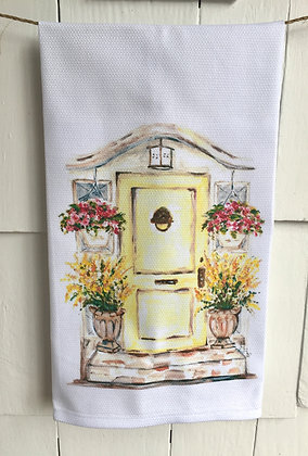 House on Main #3073 -Cotton Huck KitchenTowel
