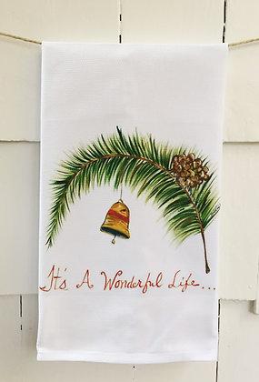 #4048 It's a Wonderful Life -Kitchen Towel