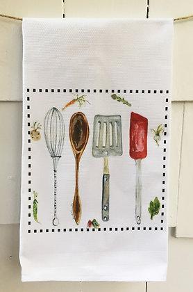 #4025 In the Kitchen  -Kitchen Towel