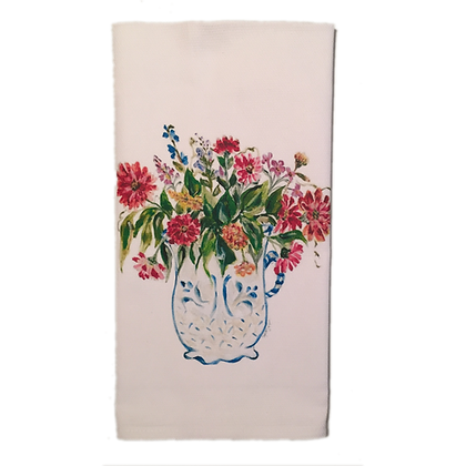 #3058 Happy Heart -Kitchen Towel