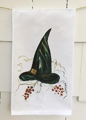 #60221 Witch Hat -Kitchen Towel