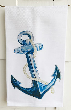 Anchor 3040 Cotton Huck Kitchen Towel