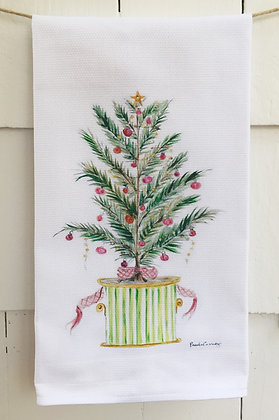 #5037 We Need A Little Christmas - Cotton Huck Kitchen Towel