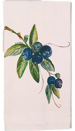#3025 Blueberry -Kitchen Towel