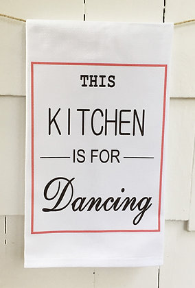 #5026 Kitchen Dancing -Kitchen Towel