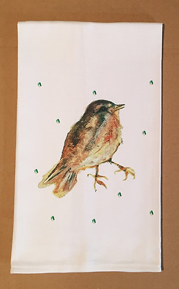 #60811 Young Robin -Kitchen Towel