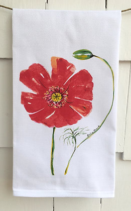 Poppy 3017 -Cotton Huck KitchenTowel