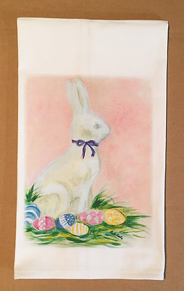 #3009 The White Rabbit -Kitchen Towel