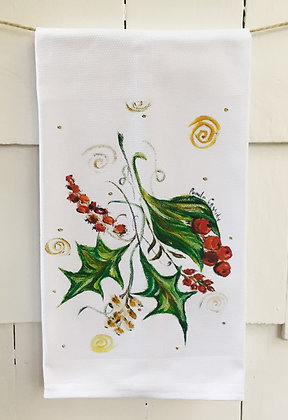 #60292 Holly Berry -Kitchen Towel