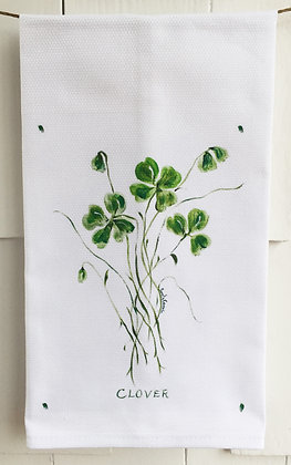 Clover 2001 Cotton Huck Kitchen Towel