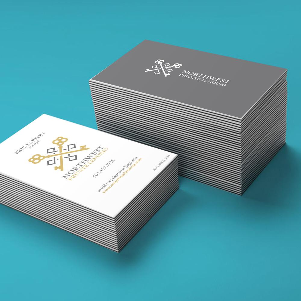 NWPL LOGO + BUSINESS CARDS | SimpleBrand—Affordable Website + Logo ...