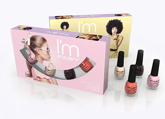Mini pack Faby nagellak met mini nagellak