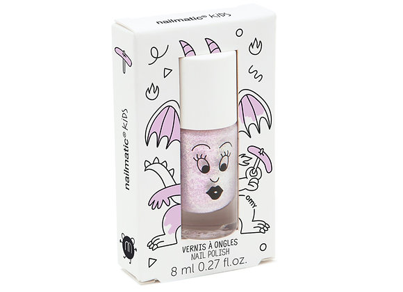 Glitter roze kindernagellak