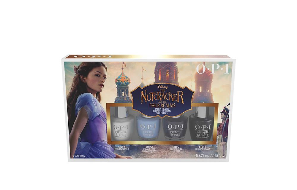 Mini 4 pack OPI Nutcracker Collection