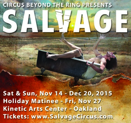 SALVAGE a circus Square Graphic