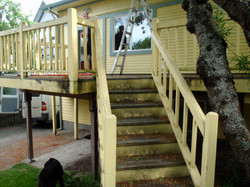 Before Photo of Fremont Deck